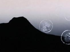 Kevyesti, puupiirros, 2010, 25x121 cm