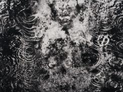 Sarjasta, Hiljainen kansa. Kansalainen, paperilitografia levylle, 2016, 50x50 cm